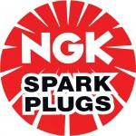 Logo de la marque de bougie karting NGK