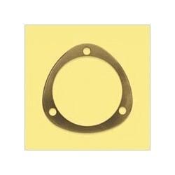Staal Lagerhouder in 2 stukken 40mm - Goud/Alu