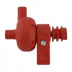 Pompe à eau plastique rouge