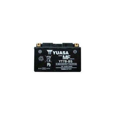 Batterie YUASA YT7B-BS pour Rotax Max