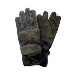 Gants gris/noir