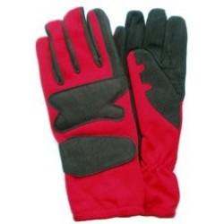 Gants rouge/noir