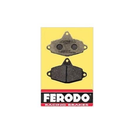 Plaquettes avants Ferodo dures pour CRG