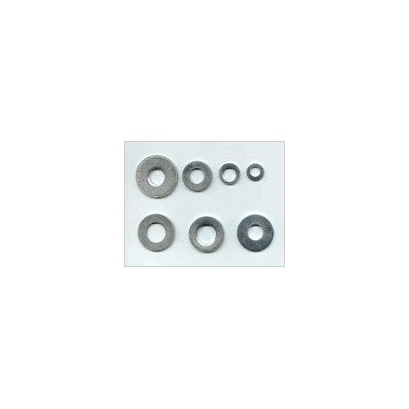 Rondelle plate 5.2 x 10 x 1mm