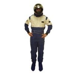 Combinaison karting Bleue/Blanche