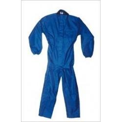 Combinaison pluie en nylon bleue taille M