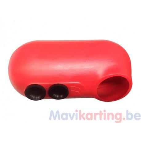 Boîte à air pour moteur à valve rotative
