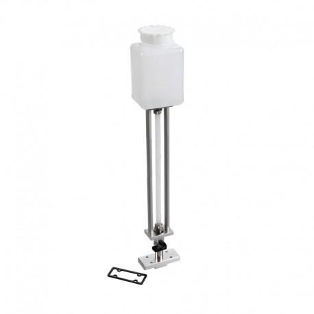 Outil pour la purge des pompes avec réservoir