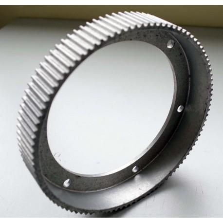 Poulie de transmission pour courroie crantée 5M largeur 27mm 125 dents