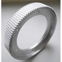 Poulie de transmission pour courroie crantée 5M largeur 31mm 108 dents