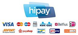 Modes de paiements offerts par Hipay